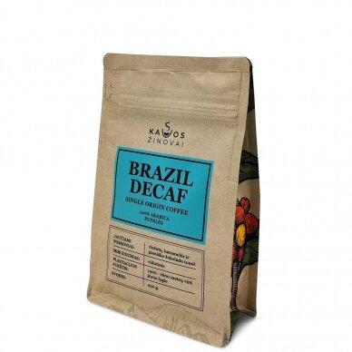 "Kavos pupelės ""Brazil Decaf"" 250g. 3"