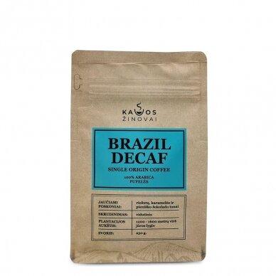 "Kavos pupelės ""Brazil Decaf"" 250g. 2"