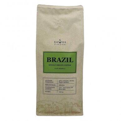 "Kavos Pupelės ""Brazil Single Origin"" 1kg. 2"