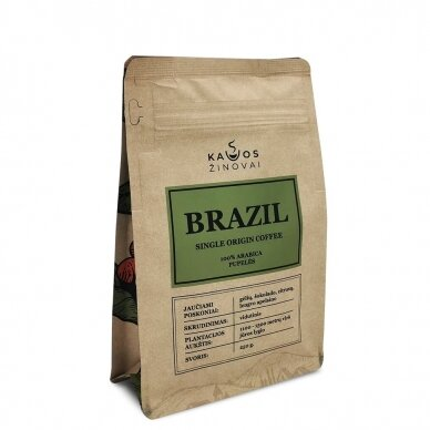 """Kavos Pupelės """"Brazil Single Origin"""" 250g."""