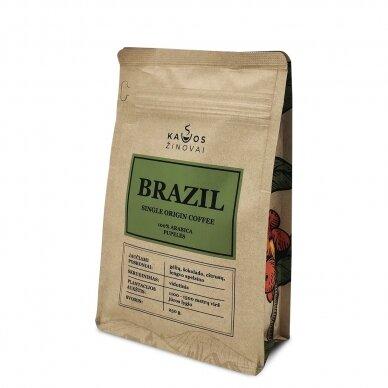 """Kavos Pupelės """"Brazil Single Origin"""" 250g. 3"""
