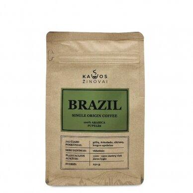 """Kavos Pupelės """"Brazil Single Origin"""" 250g. 2"""
