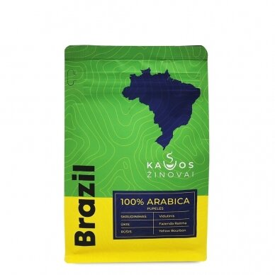 "Kavos pupelės ""Brazil Yellow Bourbon Fazenda Rainha"" 250g. 2"
