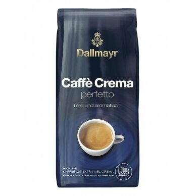 "Kavos pupelės Dallmayr ""Caffe Crema Perfetto"" 1kg."
