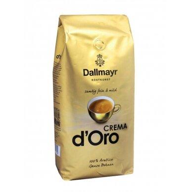 "Kavos pupelės Dallmayr ""CREMA d'Oro"" 1kg."