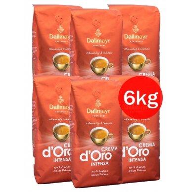 "Kavos pupelės Dallmayr ""CREMA Intensa d'Oro"" 6kg"