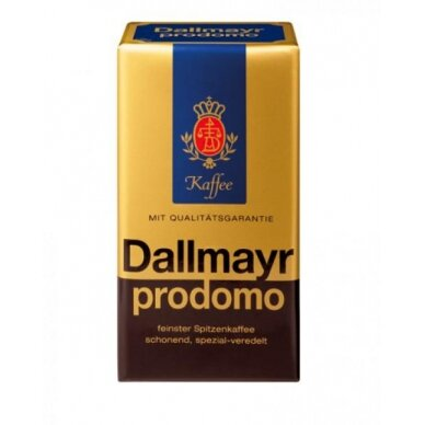 """Kavos pupelės Dallmayr """"Prodomo"""" 500g. (Galiojimas 2021.08)"""
