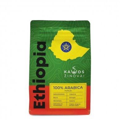 "Kavos Pupelės ""Ethiopia Sidamo"" 250g. 2"
