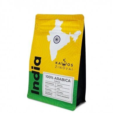 """Kavos Pupelės """"India Plantation AA"""" 250g. 3"""