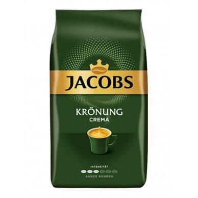 """Kavos pupelės Jacobs """"Kronung Crema"""" 1kg."""