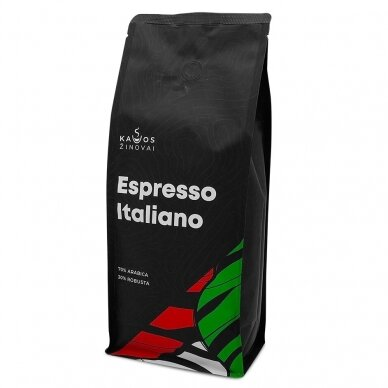 """Kavos pupelės Kavos Žinovai """"Espresso Italiano"""" 1kg. 3"""