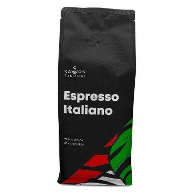 """Kavos pupelės Kavos Žinovai """"Espresso Italiano"""" 1kg. 2"""