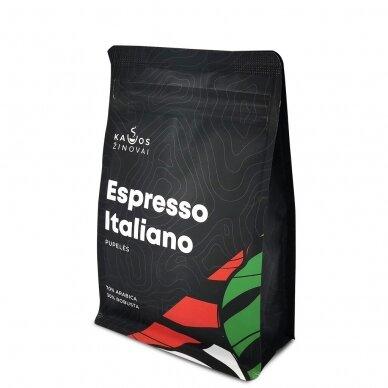 """Kavos pupelės Kavos Žinovai """"Espresso Italiano"""" 250g. 3"""