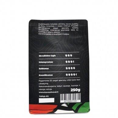 """Kavos pupelės Kavos Žinovai """"Espresso Italiano"""" 250g. 4"""
