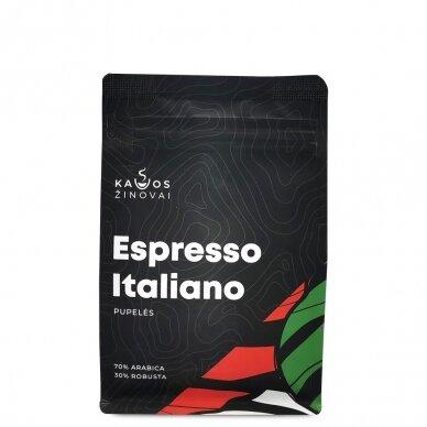 """Kavos pupelės Kavos Žinovai """"Espresso Italiano"""" 250g. 2"""