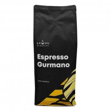 """Kavos pupelės Kavos Žinovai """"Gurmano"""" 1kg 2"""