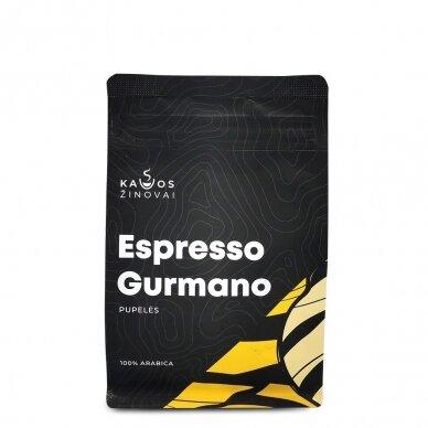"""Kavos pupelės Kavos Žinovai """"Gurmano"""" 250g. 2"""