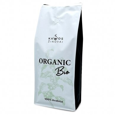 """Kavos Pupelės Kavos Žinovai """"Organic BIO"""" 1kg. 3"""