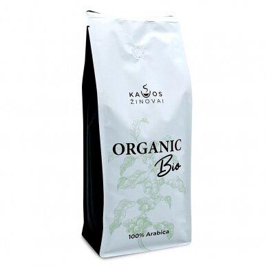 """Kavos Pupelės Kavos Žinovai """"Organic BIO"""" 1kg."""