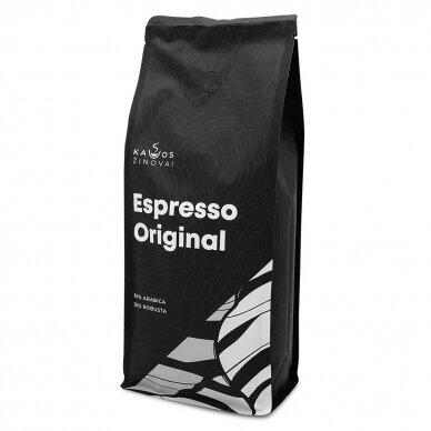 """Kavos pupelės Kavos Žinovai """"Original"""" 1kg 3"""