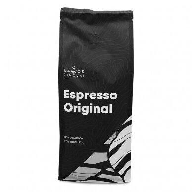 """Kavos pupelės Kavos Žinovai """"Original"""" 1kg 2"""