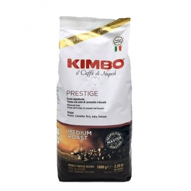 "Kavos pupelės Kimbo ""Prestige"" 1kg. 2"