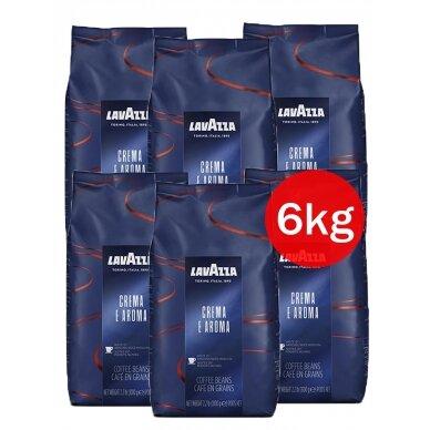 """Kavos pupelės Lavazza """"Crema e Aroma Espresso"""" 6kg"""
