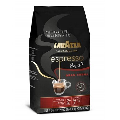 "Kavos pupelės Lavazza ""Espresso Barista Gran Crema"" 1kg"