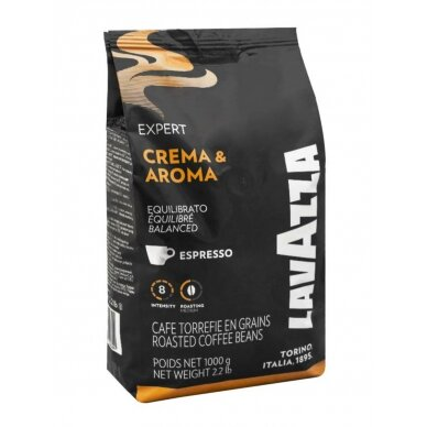"Kavos pupelės Lavazza ""Expert Crema e Aroma 1kg"