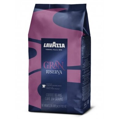 "Kavos pupelės Lavazza ""Gran Riserva"" 1kg"