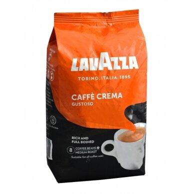 "Kavos pupelės Lavazza ""Gustoso Caffe Crema"" 1kg"