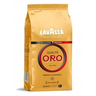 "Kavos pupelės Lavazza ""Qualita Oro"" 1kg"