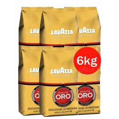 "Kavos pupelės Lavazza ""Qualita Oro"" 6kg"
