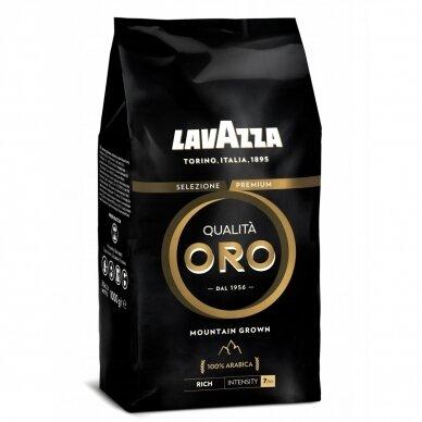 """Kavos pupelės Lavazza """"Qualita Oro Mountain Grown"""" 1kg"""