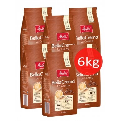 "Kavos pupelės Melitta ""BellaCrema La Crema"" 6kg"