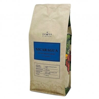 "Kavos Pupelės ""Nicaragua Single Origin"" 1kg. 4"