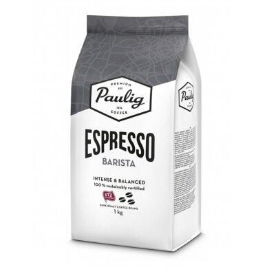 "Kavos pupelės Paulig ""Espresso Barista"" 1kg UTZ"