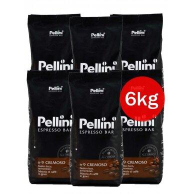 """Kavos pupelės Pellini """"Espresso Bar Cremoso"""" 6kg."""