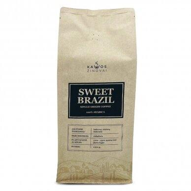 "Kavos Pupelės ""Sweet Brazil Single Origin"" 1kg. 2"