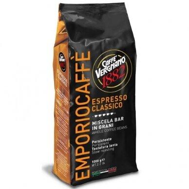 """Kavos pupelės Vergnano """"Emporio"""" 1kg"""