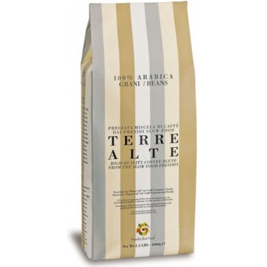 "Kavos pupelės Vergnano ""Terre Alte"" 1kg"