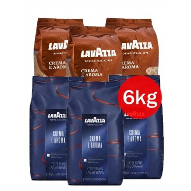 "Kavos rinkinys Lavazza ""CREMA 2x3"" 6kg"