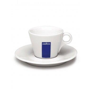 "LavAzza ""Caffe latte"" puodelis su polėkšte 220ml"