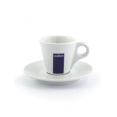 "LavAzza ""Espresso"" puodelis su polėkšte 70ml"