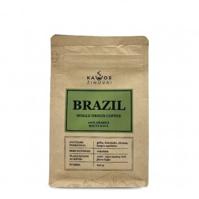 "Malta kava ""Brazil Single Origin"" 250g. 2"