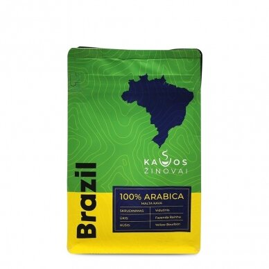 "Malta kava ""Brazil Yellow Bourbon Fazenda Rainha"" 250g. 2"