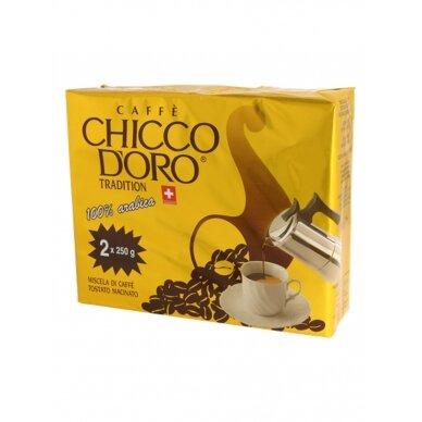 """Malta kava Chicco d'Oro """"Tradition"""" 500g."""