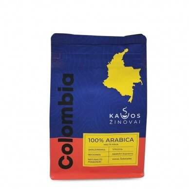 """Malta kava """"Colombia Medellin Supremo"""" 250g. 2"""
