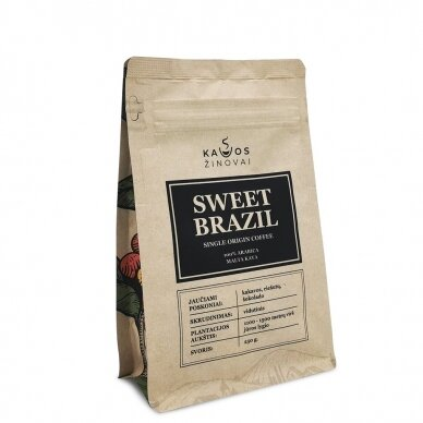 "Malta kava ""Sweet Brazil Single Origin"" 250g."