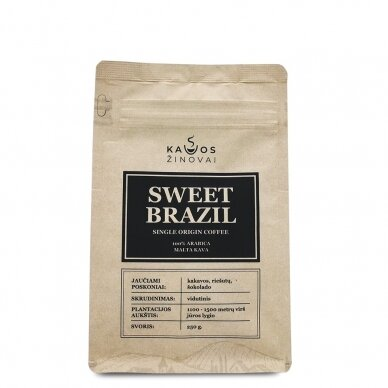 "Malta kava ""Sweet Brazil Single Origin"" 250g. 2"